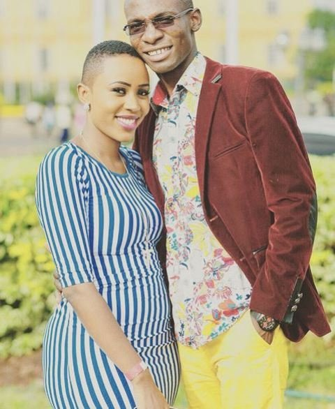 Dr Ofweneke and ex fiance Nicah