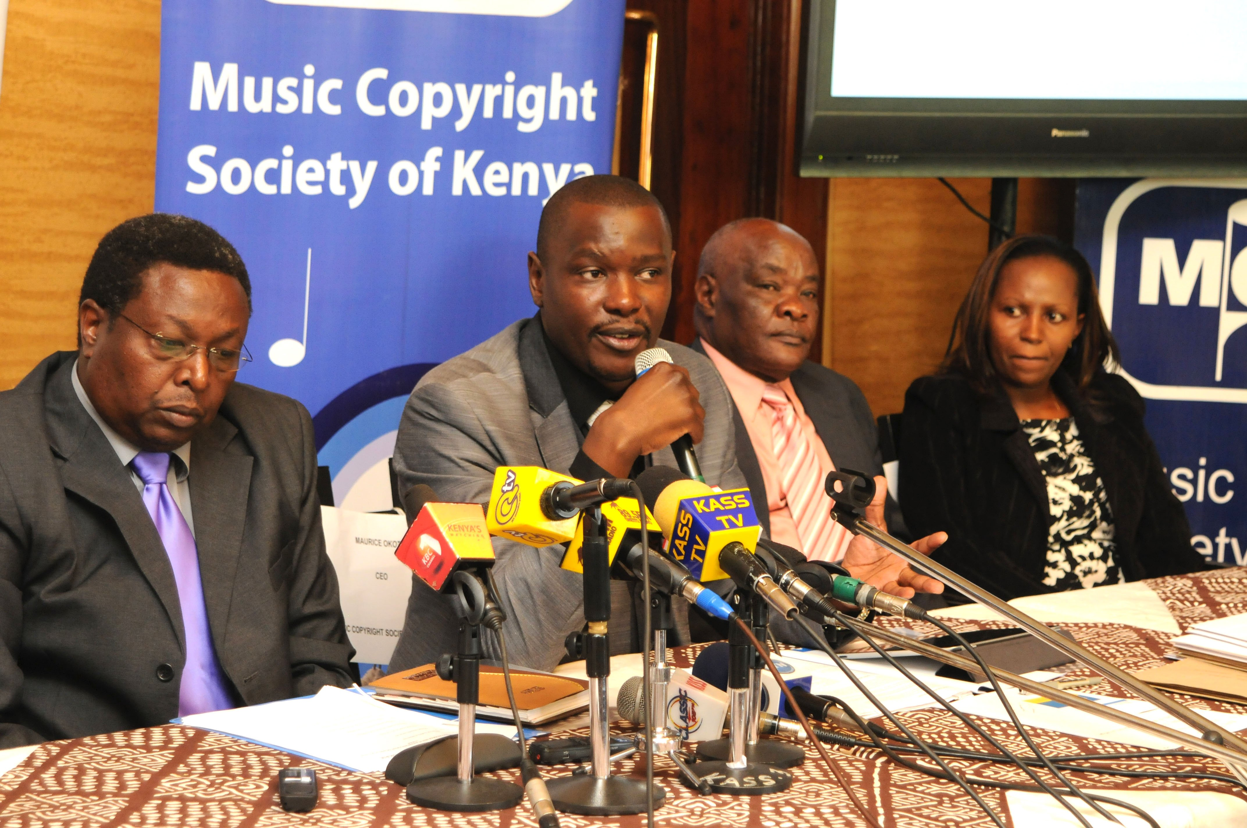 Now, MCSK Moves to Court, Sues The Kenya Copyright Board and The Attorney General (Photo)