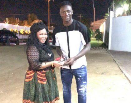 Saida Karoli ampa staa wa Tottenham – Victor Wanyama zawadi kusherekea siku ya kuzaliwa kwake