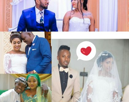 Ndoa 5 Za Mastaa Zilizo-kiki Kwa Mwaka 2017
