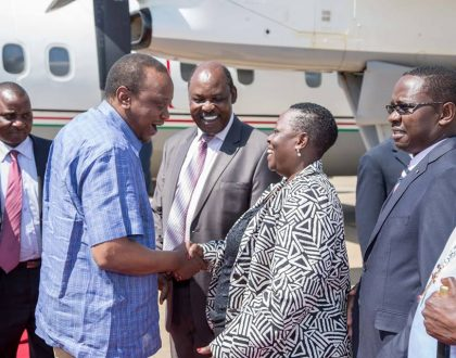 """""""Uhuru is a good friend of mine, a very personal friend"""" Raila's sister Ruth Odinga maintains cordial relationship with President Uhuru even though his father made her strip naked"""