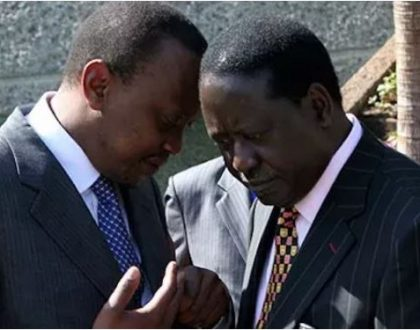 Uhuru Kenyatta and Raila Odinga's family members who lost terribly in Jubilee and ODM primaries (Photos)