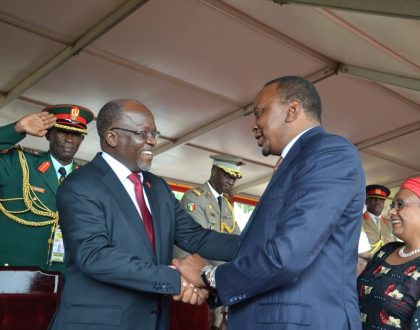 Video evidence proves President Magufuli is out to destroy Kenya…How he blackmailed Museveni to drop pipeline deal with Kenya