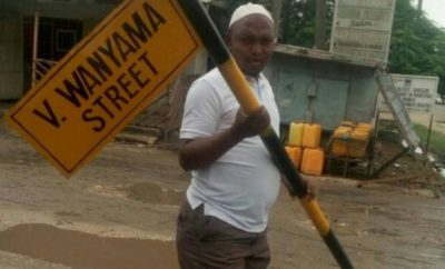 Tanzanian government explains why they pulled down 'Victor Wanyama street' after honoring the renowned footballer