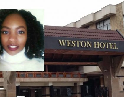 Pretty lady who survived cholera outbreak at Weston Hotel narrates her ordeal on Twitter from her hospital bed (Photos)