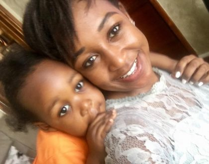 Betty Kyallo holds pre-birthday party for her daughter with the big celebration to be held in Kayole (Photos)