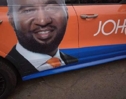 Hassan Joho's campaign vehicle seized in heroin crackdown in Mombasa (Photos)