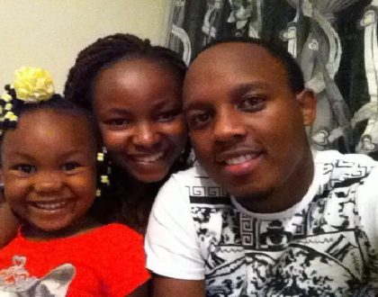 Abel Mutua: The girl I met two months before I left college ended up being my wife