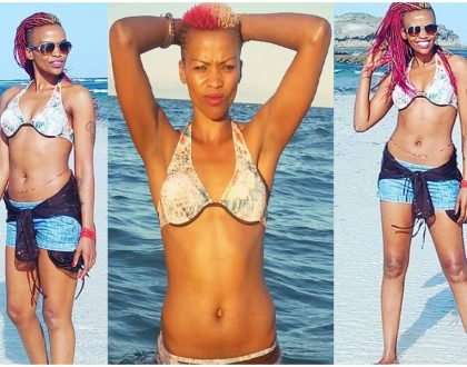 25 downright sexy photos of sultry volleyball queen Janet Wanja