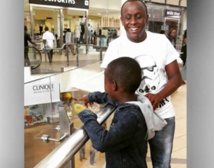 Catherine Kamau's fiancé shares words of advice to men who fear marrying women with children