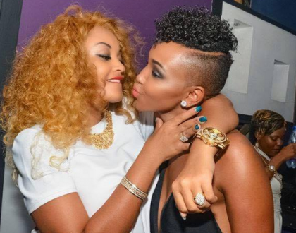 """""""A man is yours when you are with him"""" Huddah taking shots at ex-friend Zari Hassan?"""