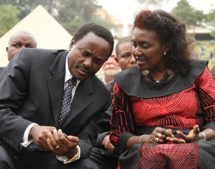 After death rumors, Wiper leader Kalonzo Musyoka speaks about his wife's health