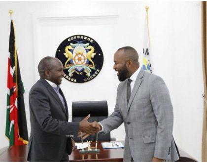 Hassan Joho snubs president Uhuru Kenyatta to host Donald Kipkorir