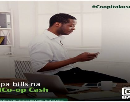14 transactions made easy by MCo-op Cash app from the Co-operative Bank