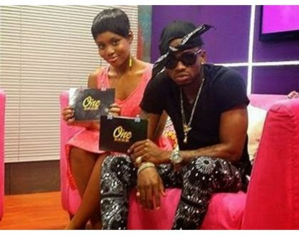 """You are the African beauty"" Diamond Platnumz flirts with his ex girlfriend on her birthday"