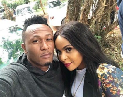 DJ Mo lands yet another lucrative deal, Size 8 cannot hide her happiness