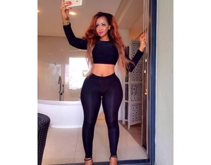 Vera Sidika mourns the death of a family member