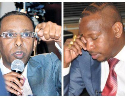 Uhuru's lawyerAhmednasir Abdullahi: Send Sonko back to prison to serve the remainder of his term