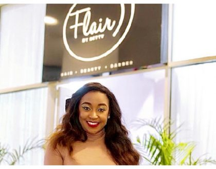 """""""I thought i was crazy to start the project"""" Betty Kyallo recounts journey to open her ownboutique salon - Flair by Betty"""