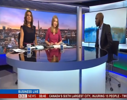 BBC finally debuts Larry Madowo almost a month after hiring him