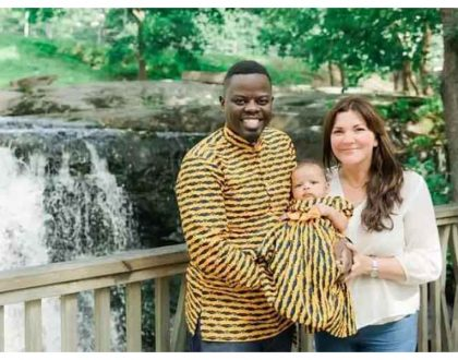 More blessings! Mother-in-law actor expecting second baby with Finnish wife (Photos)