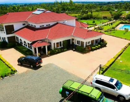 """""""Didn't wantfamily to run around with my coffin begging exes to bury me"""" Akothee on why she built 80 million paradise in Rongo"""