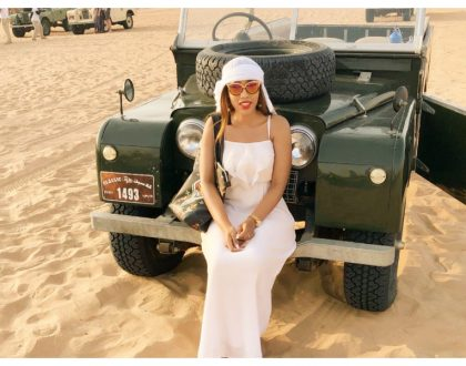 NTV anchor Doreen Majala slays in desert photo shoot (Photos)