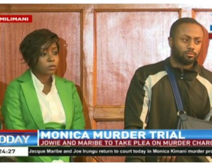 At least leo kamepaka makeup! Jacque Maribe looks presentable in court for the first time since she was arrested (Photos)