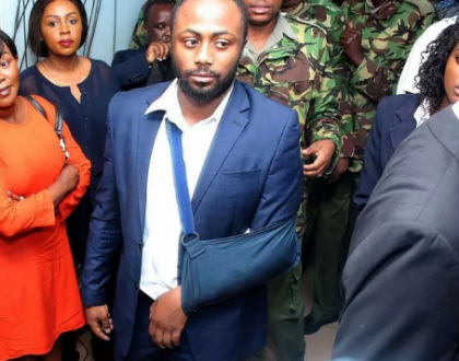 'Judge used most uncouth words' Jowi pens deep letter to JSC after Judge called him woman eater