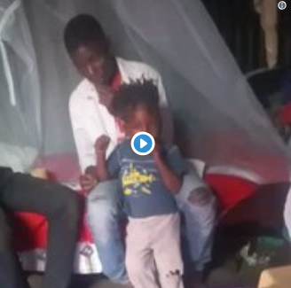 Police hunting two men who posted video smoking weed with a very young kid(video)