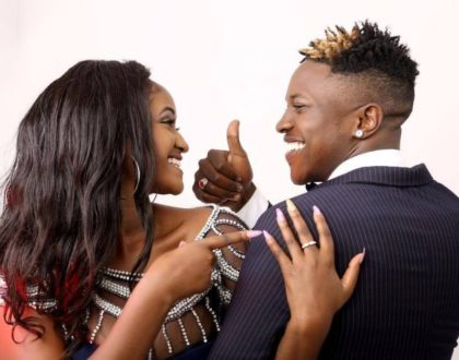 """""""Sisi hatuachani"""" Mr Seed laughs off after Bahati is exposed for allegedly cheating on wife with Weezdom's lady friend"""
