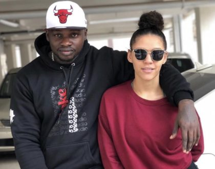 Never seen before photo of Khaligraph Jones wife as a plus size!