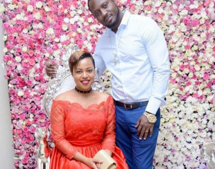 Zuena Shares Wedding photos in Anniversary message