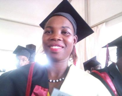 Our Gold Medalist Dorcus Inzikuru Shines at Graduation