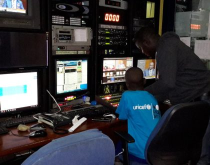 NTV Gives Children A Chance to Read The News