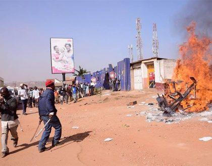 Boda Boda 2010 Offices Set Ablaze By Angry Motorcyclists
