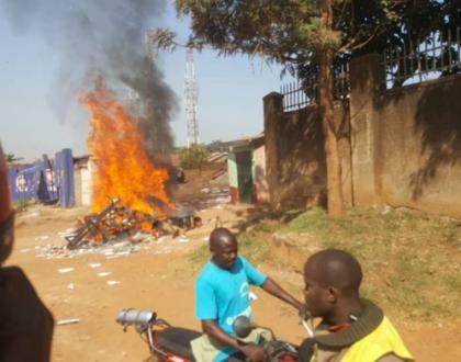Mayhem in Kampala as boda boda 2010 leaders are arrested
