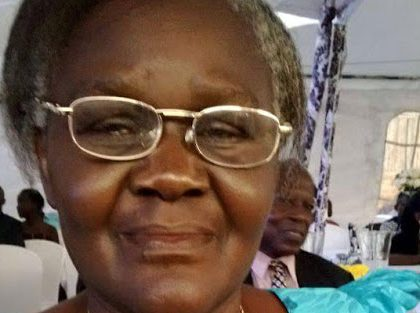Former jinja MP. Ruth Owagage is dead.
