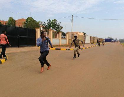 Drama as Police Blocks Journalists from Covering Kirumira's Case