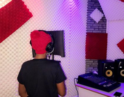 Spice Diana and Manager Open Music Studio