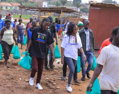 Grace Nakimera on Charity Move with Feed The Streets Foundation