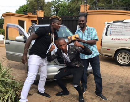 Bryan White Rewards DJ Micheal for his Loyalty with a New Mercedes