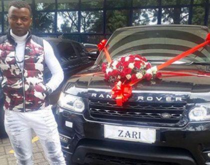 Zari rejects Range Rover from Ringtone