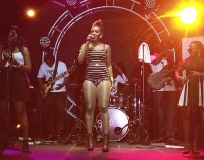 Cindy Bashes Artistes that donot Perform Live