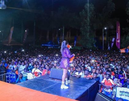 VIDEO: Spice Diana lights up Kabale