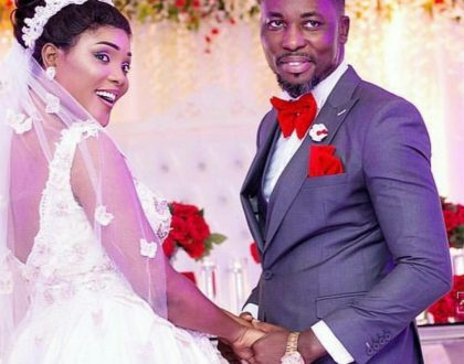 A Plus And Akosua Vee Finally Tie The Knot(Photos)