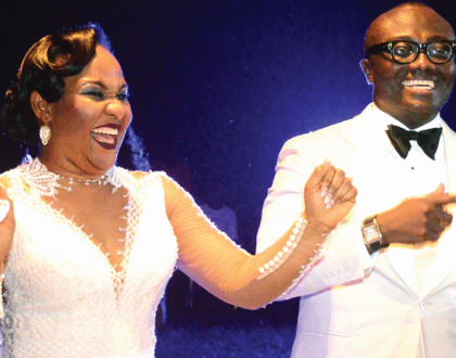 Photos: Bola Ray With Wife