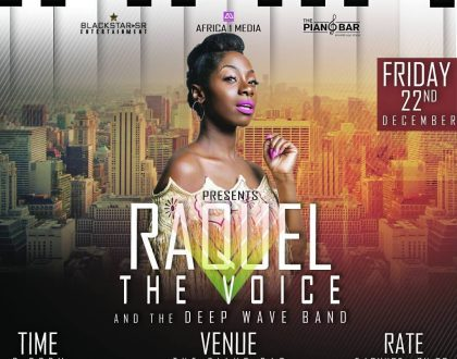 Raquel's Live Band 'The Voice' To Be Premiered On December 22