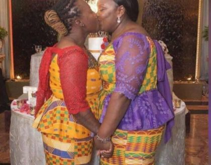 First Ghanaian Lesbian Wedding Hits The Internet (Photos)