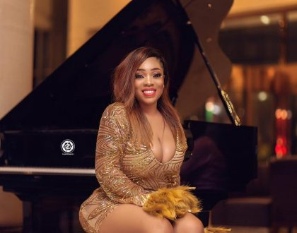 Photos: Moesha Boduong Mixes Sexiness With Gold